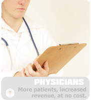 Click to learn more about what Telehealth means for the physician.